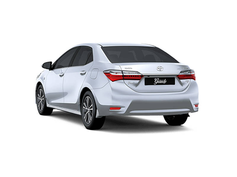 brand new toyota altis price perbedaan veloz dan grand corolla automatic 1 6 2019 in pakistan pakwheels exterior rear view facelift