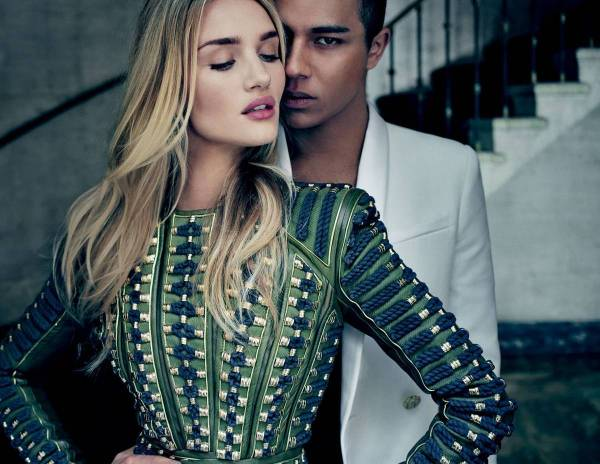Olivier Rousteing Leads Balmain London Senatus