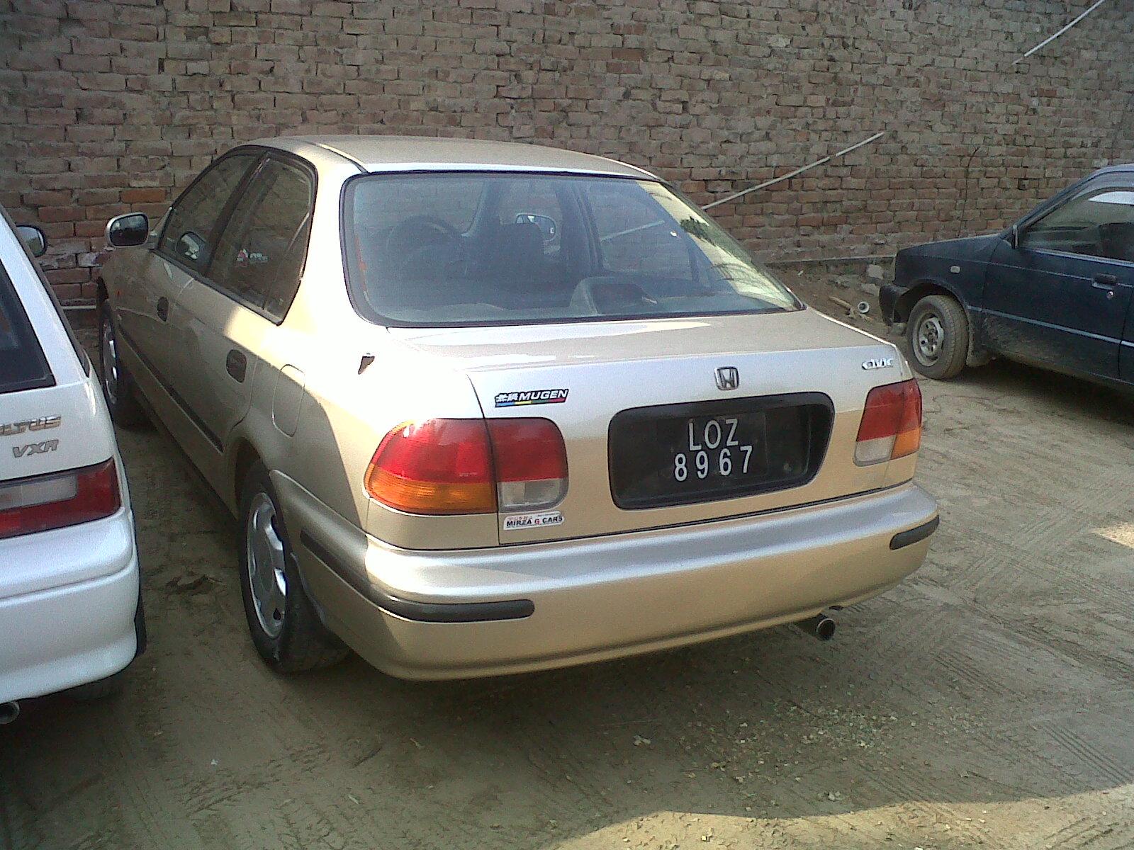 Honda Civic 1996 Of Civic95 Reborn Member Ride 14597