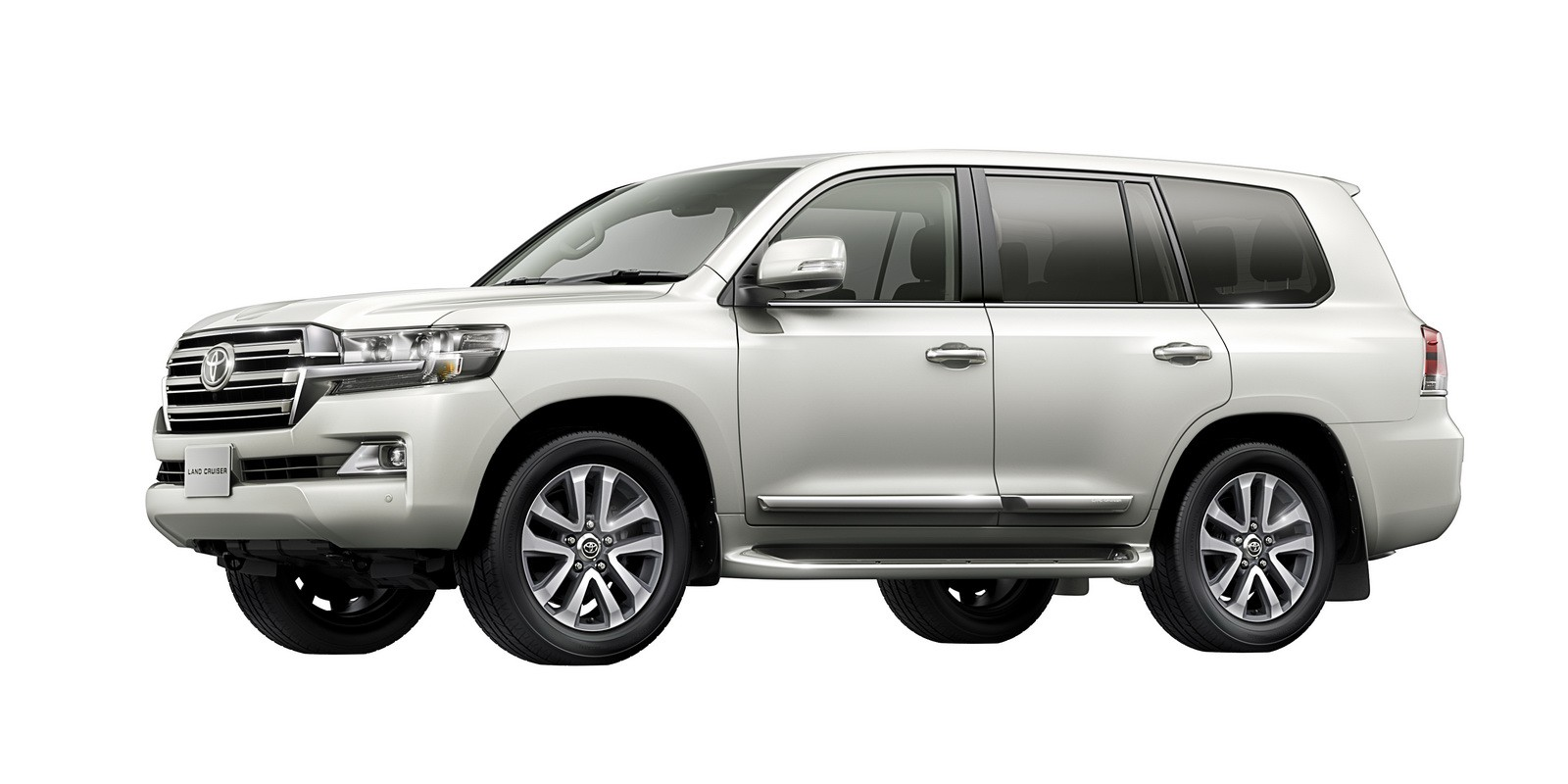 small resolution of toyota land cruiser 2019 exterior side view