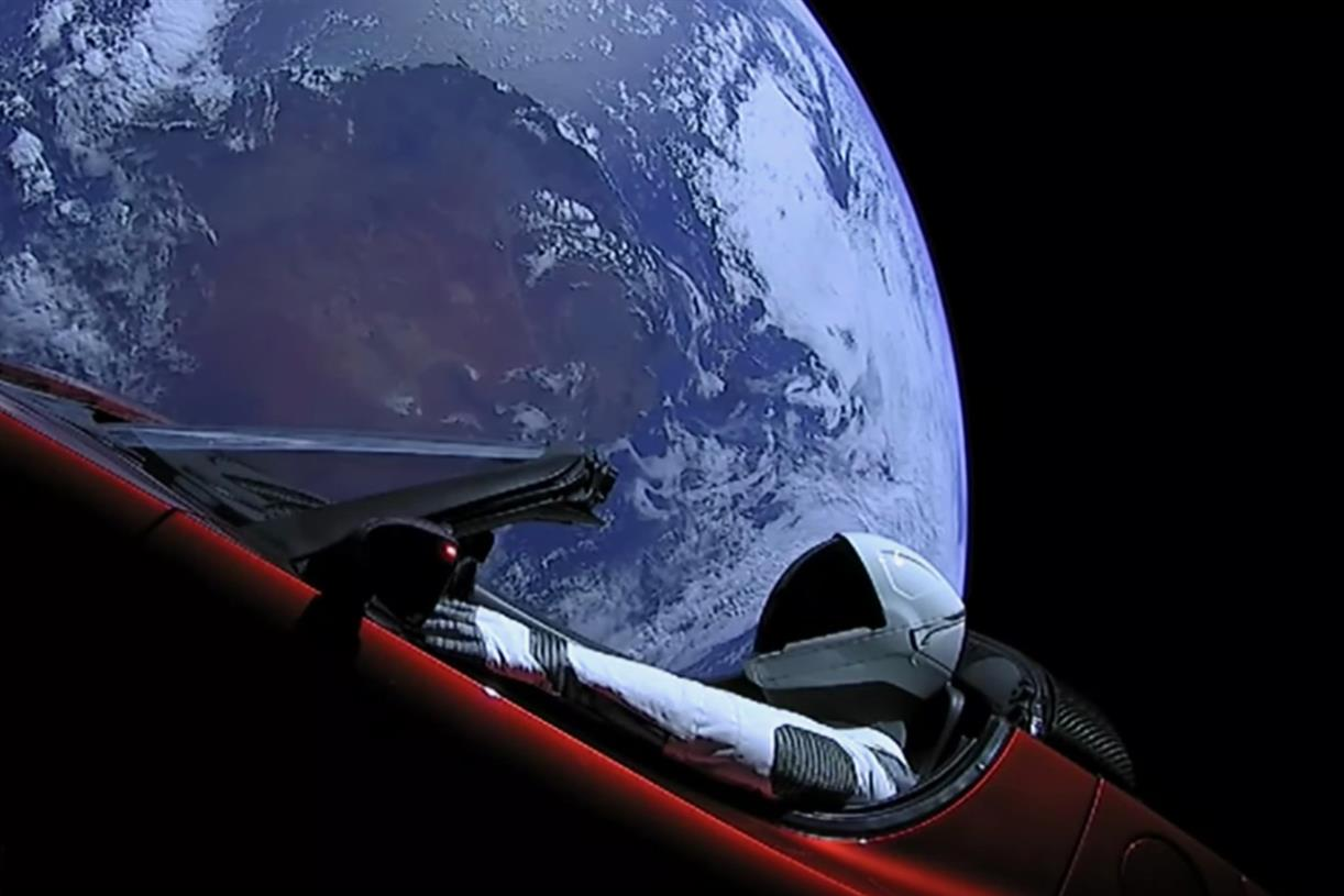 Car In Space Wallpaper Elon Musk Tesla Launches Space Stunt In World S Most Expensive Car