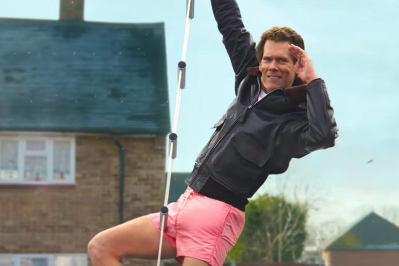 Kevin Bacon and his 'big package' take gold for EE in this