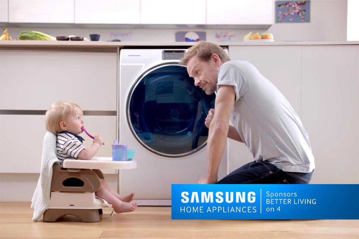 Samsung Home Appliances Sponsors Channel 4 In Seven Figure