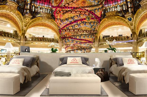 Guests will sleep underneath the venue's dome structure