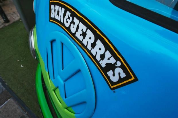 Ben & Jerry's on the road with iconic VW camper van