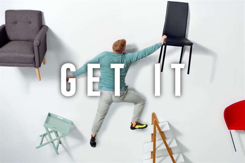 chair gym argos redo kitchen table and chairs to launch fitness pop up with no sweaty locker room smells is creating a space show that people they can get exercise at home rather than having go the