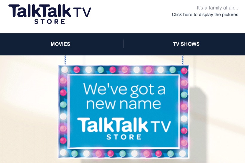 Blinkbox becomes TalkTalk TV Store a year after 30m