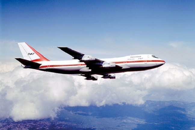 the boeing 747 is