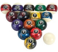 Pool Balls - Mueller's Billiard & Dart Supplies