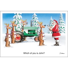 Farm Equipment Christmas Cards Paul Oxman Publishing