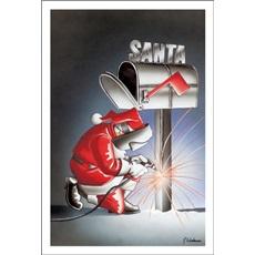 Welding Christmas Cards Paul Oxman Publishing