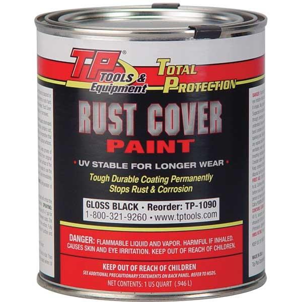 TP Tools® RUST COVER PAINT - Gloss Black, Qt - TP Tools ...