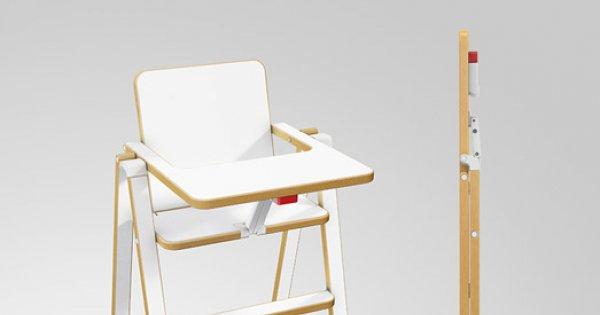chaise haute ultra compacte