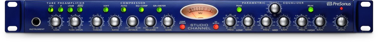 channel strip presonus studio channel
