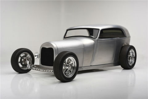 Rare, Celebrated Customs and Hot Rods among Featured Vehicles During Barrett-Jackson Scottsdale Auction