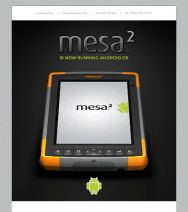 The Mesa 2 is Now Running Android OS