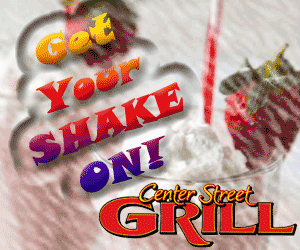 Center Street Grill Shake Is On