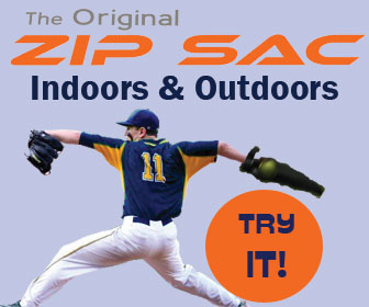 Zip Sac by Athlonic Sports inventor of the Wheeler Dealer Soft Toss machine