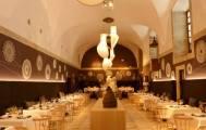 Salón del restaurante Parador Nacional de Corias