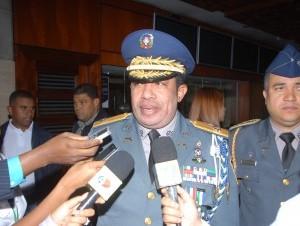 José Armando Polanco Gómez, jefe de la Policía.