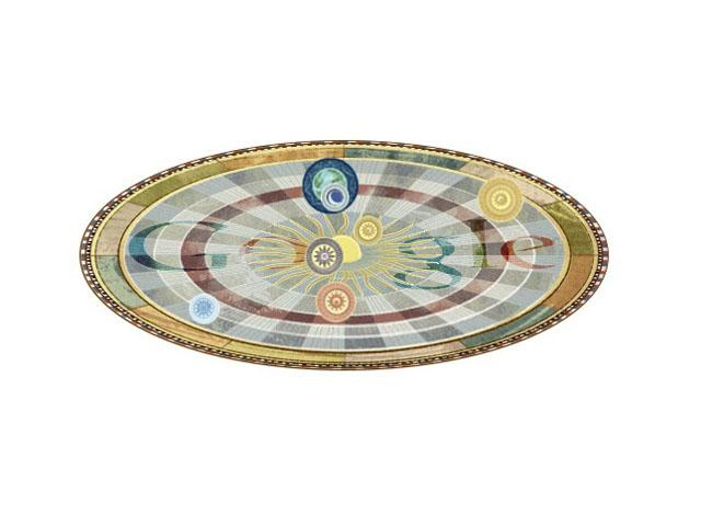 La aportación de Copérnico fue la de proponer que la Tierra no era el centro del mundo, sino que la Tierra y todos los demás planetas se movían alrededor del Sol.