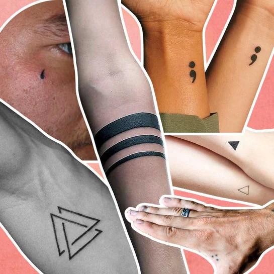 2 ringe am unterarm tattoo  Modeschmuck