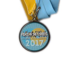 premio del Festival Peace in the street