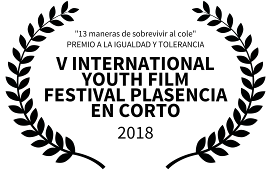 "Premio ""Igualdad y Tolerancia"": V International Youth Film Festival Plasencia en Corto"