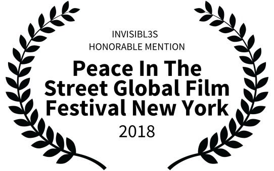 Peace In The Street Global Film Festival 2018 (ONU) - Mención de Honor