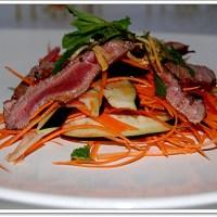 Cách làm salad cà tím thịt bò
