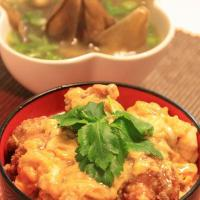 Cách làm Gà chiên xốt trứng kiểu Nhật