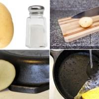 Mẹo loại bỏ gỉ sét nồi bằng khoai tây