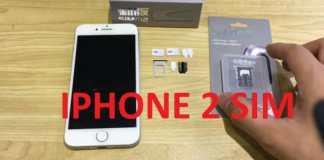 Cách lắp 2 sim iPhone