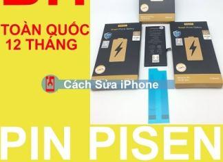 Pin Pisen Dung LƯỢng Cao Chính Hãng Bảo Hành Toàn Quốc