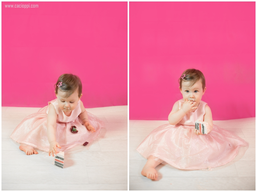 , {Photographe de bebe Monaco} Kirsten, 1 an, smash the cake!