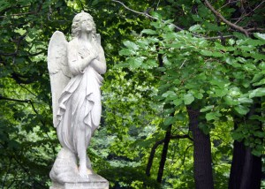 statue of a guardian angel