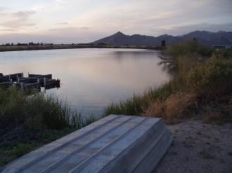 lake at TLR