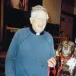 Father Thomas with Cocoa