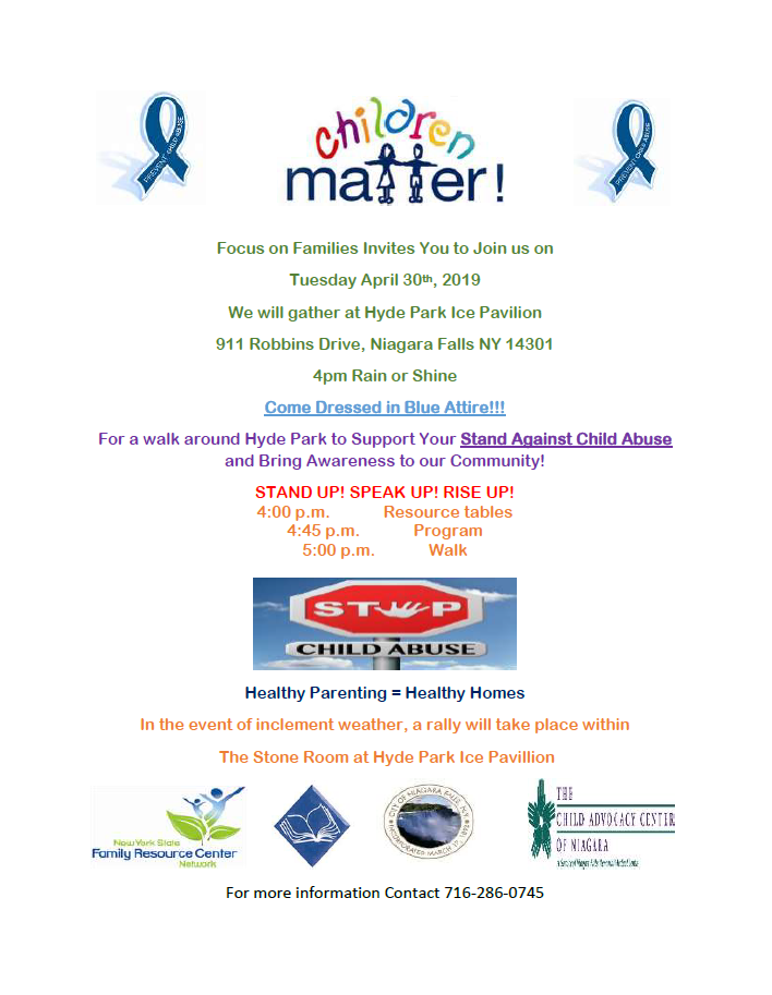 Join the Stand Against Child Abuse Awareness Walk! - Child Advocacy