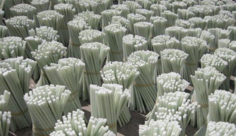 Fiber glass rods