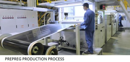 Carbon fiber prepregs
