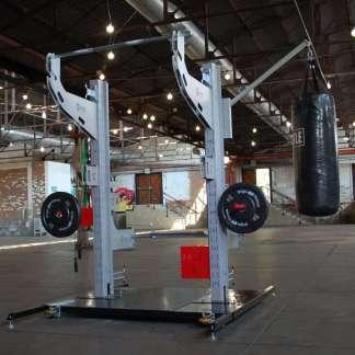Free standing modular gym