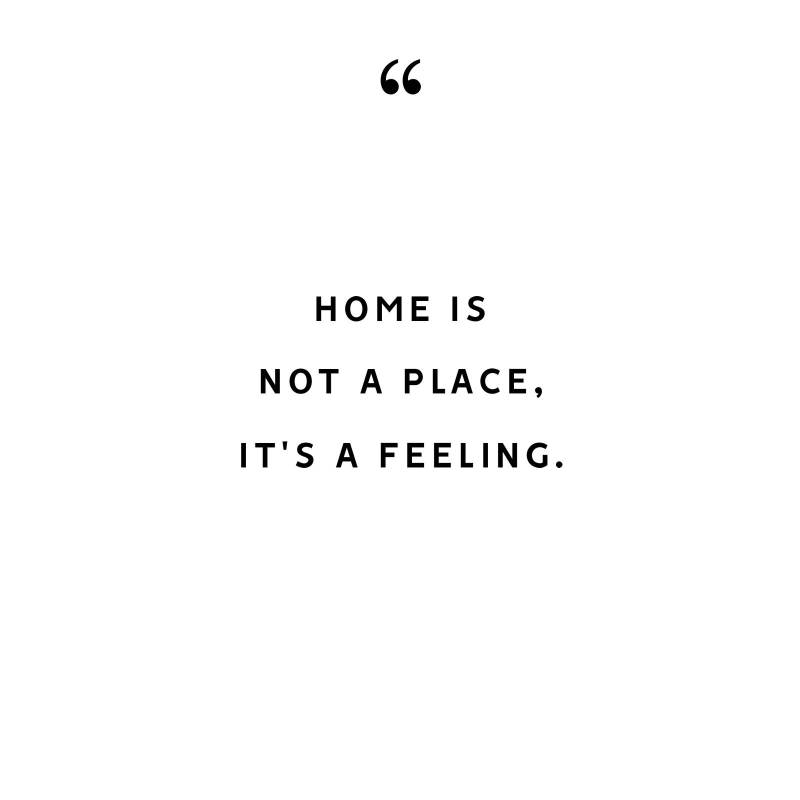 home is not