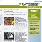 ARD Ratgeber Garten und Heim - Thema Kakteen - bei Kakteen-Haage
