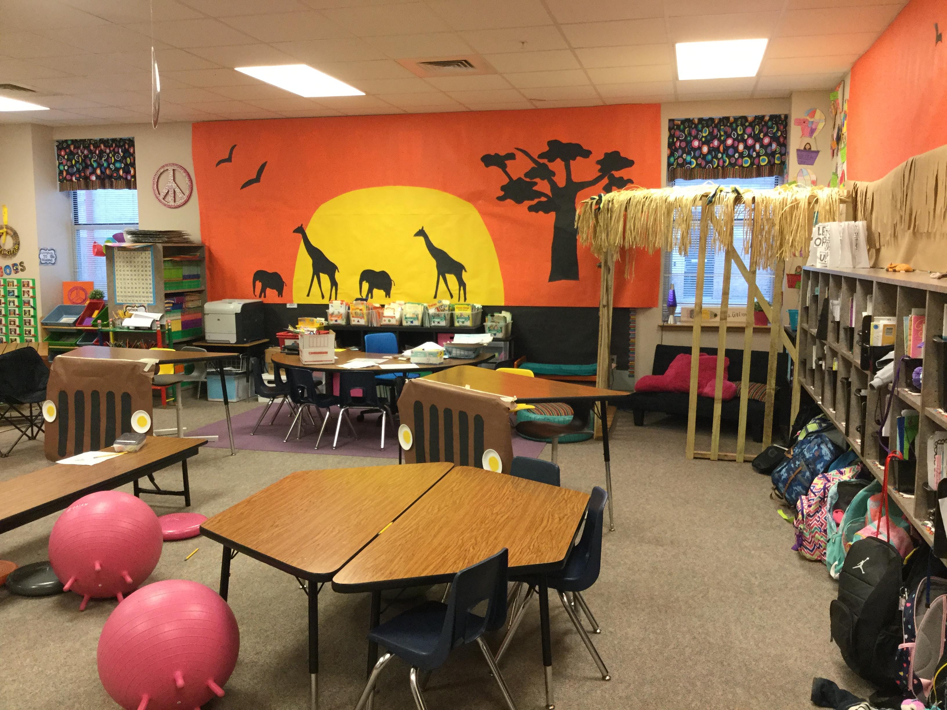First Grade Transforms Into Habitats