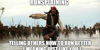 Runsplaining Meme