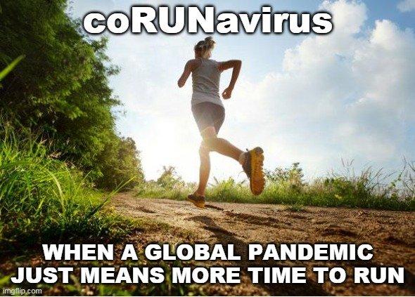 coRUNavirus Meme
