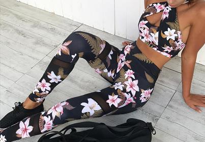Kolorowe legginsy w tym sezonie stały się bardzo porządane