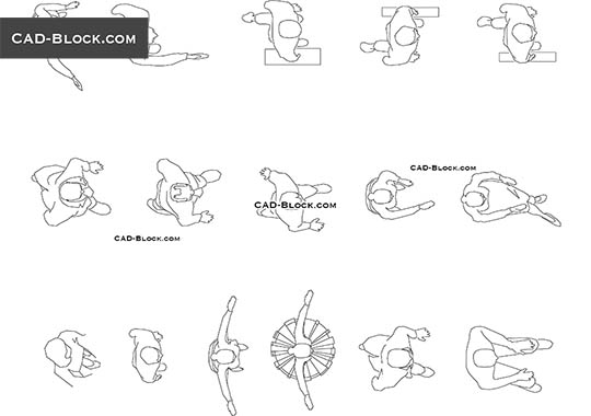 Toys CAD Blocks free download