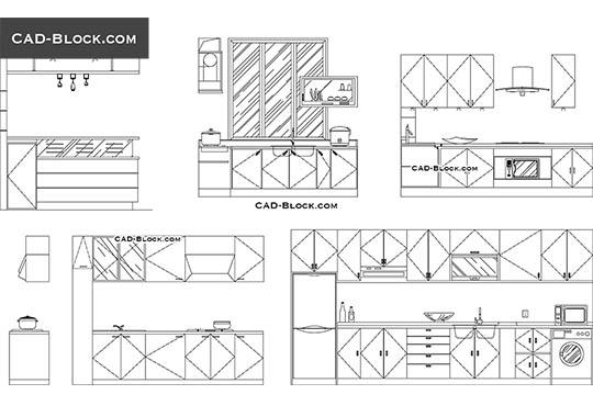 Kitchen CAD Blocks free download